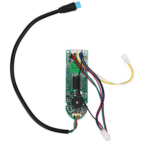 Pwshymi Fácil de instalar circuito de salpicadero, cubierta de circuito para scooter scooter placa Bluetooth, fácil de llevar, práctico y sencillo para scooter eléctrico