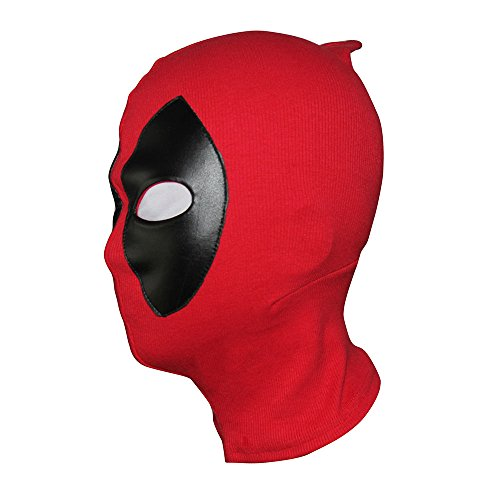 Men Mask Costume Cosplay Halloween Hood Cotton Spandex Leather, adults kids
