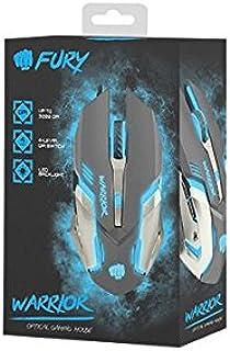 Natec Fury Gaming Optical Mouse Warrior 3200 dpi Illuminated