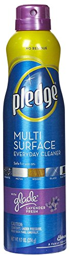 Pledge Surface Furniture Polish Fresh-9.7 oz, Pack - 1, Multi/Lavender