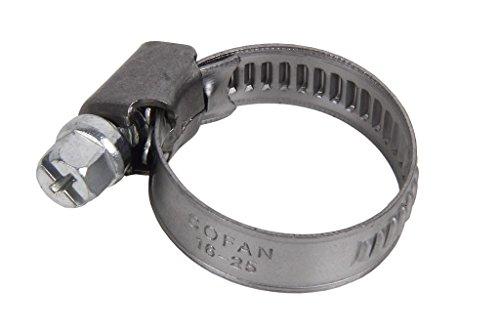 Cofan 08011220 Abrazadera metálica, 12-20 mm