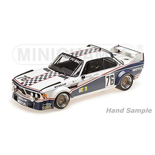 Minichamps- Voiture Miniature de Collection, 155772576, Bleu/Blanc
