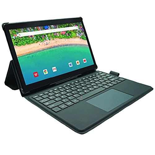 [3 Bonusgegenstände] Simbans TangoTab XL 11.6 Zoll Tablet und Tastatur, 2-in-1 Mini Laptop, Android 10, 4 GB RAM, 64 GB, Mini-HDMI, 8 MP Kamera, USB, GPS, Dual WLAN, Bluetooth Computer PC - TLXL