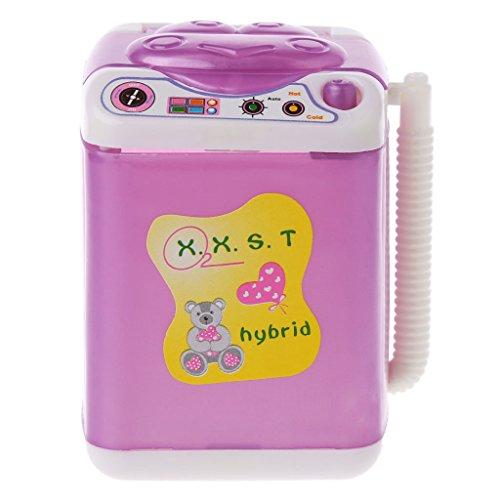 Waschmaschine für Barbie-Puppenhaus, Baby-Spielzeug, Puppenzubehör