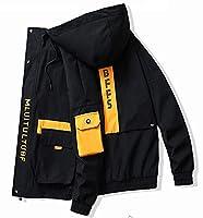 ユニグランド トレッキング・登山・アウトドア・キャンピング・フィッシング・バイク多様ジャケット (ブラック, XXL)
