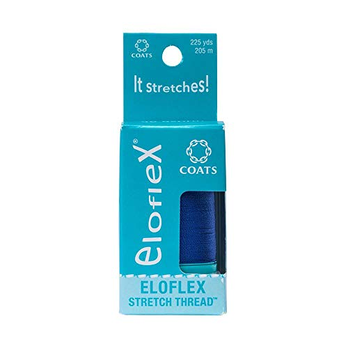 Coats Eloflex Stretch Thread, Yale Blue