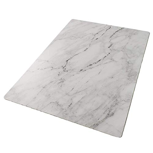 Bessie Bakes Super-Thin & Pliable Marble Replicated Backdrop for Food & Product Photography 2 ft x 3ft | Moisture Resistant Stain Resistant Lightweight