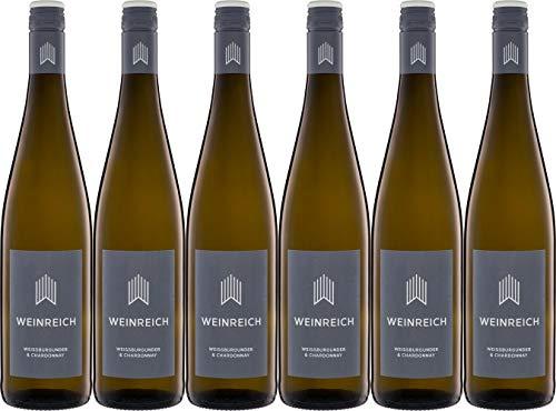 Weinreich Weissburgunder & Chardonnay 2019 Trocken Bio (6 x 0.75 l)