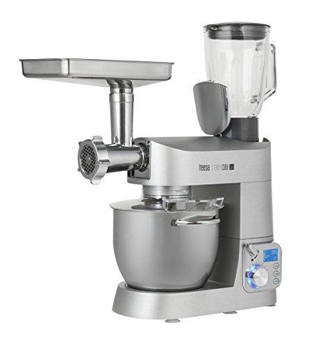 Teesa TSA3530 multifunctionele keukenmachine, 18/8 roestvrij staal, zilver