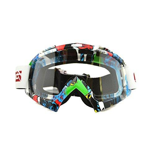 Nuevas gafas de protección deportivas, para todo terreno, gafas limpias de Motocross