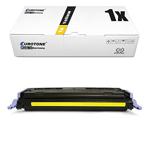 1x Müller Printware kompatibler Toner für HP Color Laserjet cm 1015 1017 MFP ersetzt Q6002A 124A