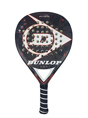 Dunlop Hyperfibre Extreme 2018 Palas, Adultos Unisex, Negro, 375