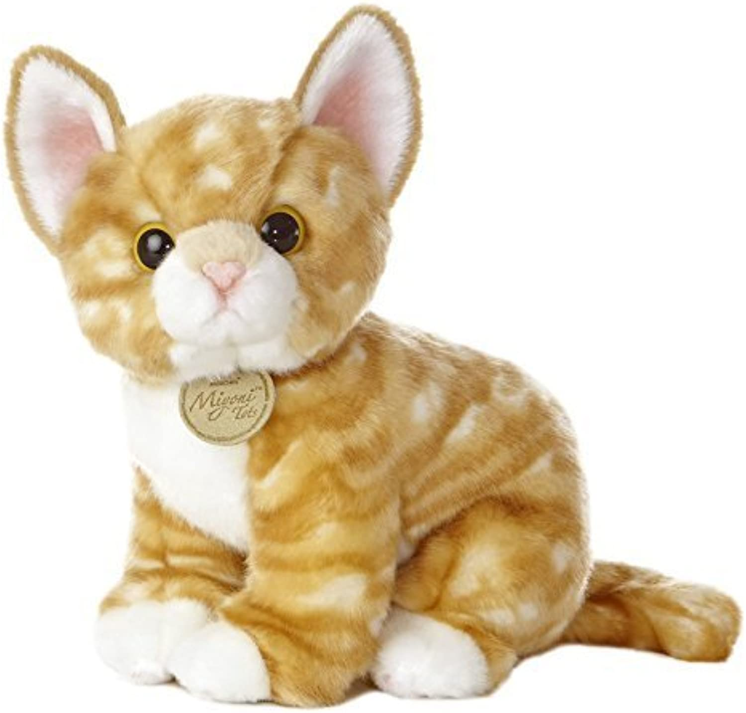 Aurora World Miyoni Tots arancia Tabby Kitten 10  Plush by Aurora World