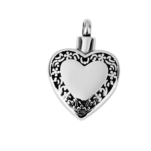 Gazechimp Colgante Forma Corazón De Acero