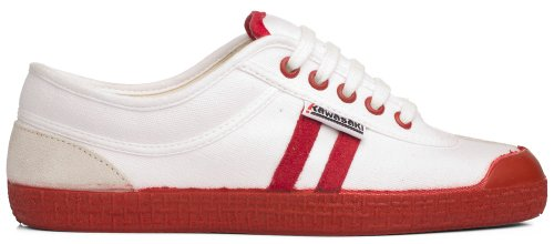 Kawasaki Line Retro White/Red