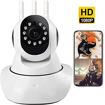 Security WiFi Camera, 1080p WiFi Camera, Indoor...