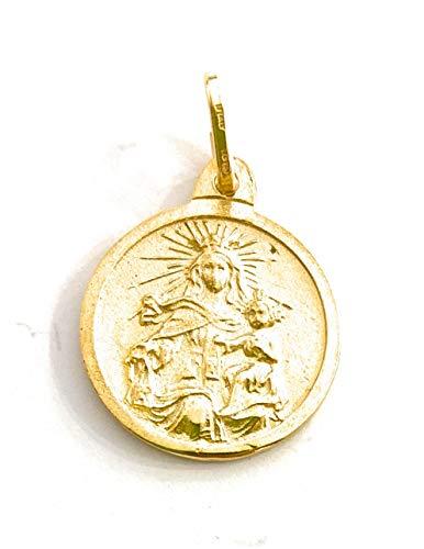 De Bussy Medalla escapulario Virgen del Carmen