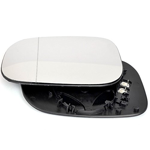 T/ür Stick auf Spiegel Ersatz Beifahrerseite Quick Fix Silber # reka-09//13-l /_ WA Echtglas Spiegelglas Glas links rekan