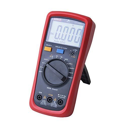 Multímetro digital UNI-T UT136B+ AC/DC frecuencia de resistencia medidor de rango automático