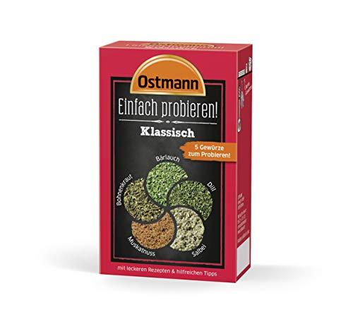 Ostmann Einfach probieren Set - Klassisch, 4er Pack (4 x 13 g) 818520