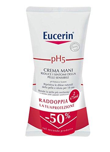 Eucerin pH5 Crème Mains Sèches et gercées 2 x 75ml Bipack