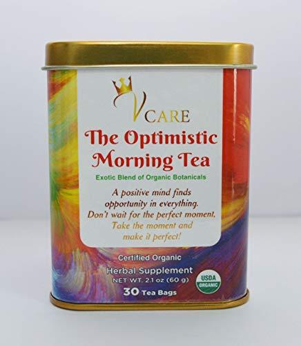 Organic Herbal Blend Tea-Morning Tea, Energy boost and stress relief tea bags, Anti inflamatory tea Ashwaghanda Tea, Well Being Tea, Anti Anxiety Tea,