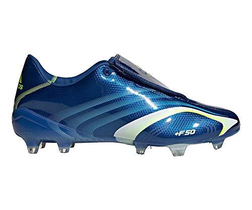 adidas Hombre F50 FG Zapatos de Fútbol Azul, 40 2/3 ✅