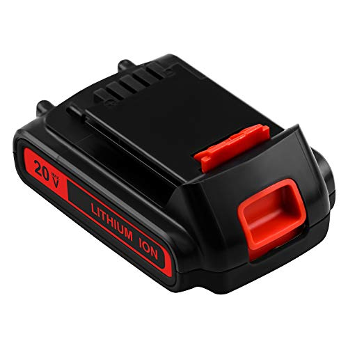 3000mAh LBXR20 20 Volt Replacement Battery Compatible with Black and Decker 20V Lithium Battery Max LB20 LBX20 LBXR2020-OPE LBXR20B-2 LB2X4020 LST220