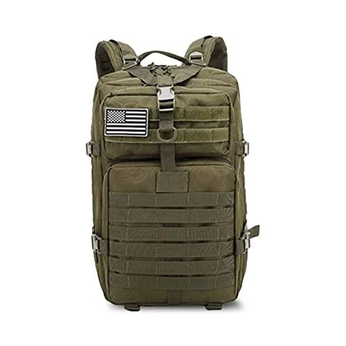 50l Verde de Gran Capacidad Army Men táctico Militar Mochila 3p Tapa Blanda al Aire Libre de Errores Impermeable Mochila Que va de excursión de Caza Bolsas