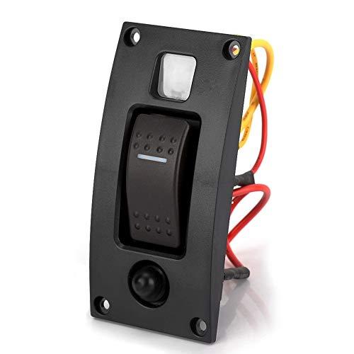 KSTE On-Off 12/24 V 1 versnelling LED Marine Rocker goedkope pomp schakelplaat met automatische uitschakeling