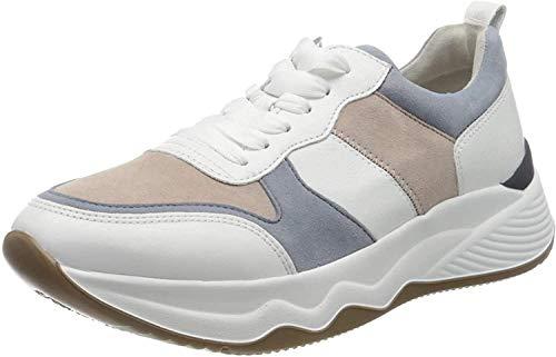 Gabor Shoes Gabor Jollys, Zapatillas para Mujer, Blanco (Weiss Pastel Kombi 26), 39 EU