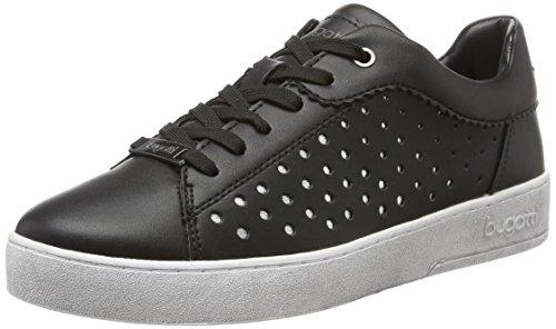 bugatti Damen J7605PR6N Sneakers, Schwarz (schwarz/Weiss 111), 39 EU