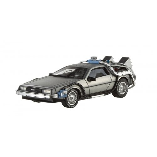 Hot Wheels Elite X5493-DL1F - Sammlermodell Delorean Time Machine Zurück in die Zukunft