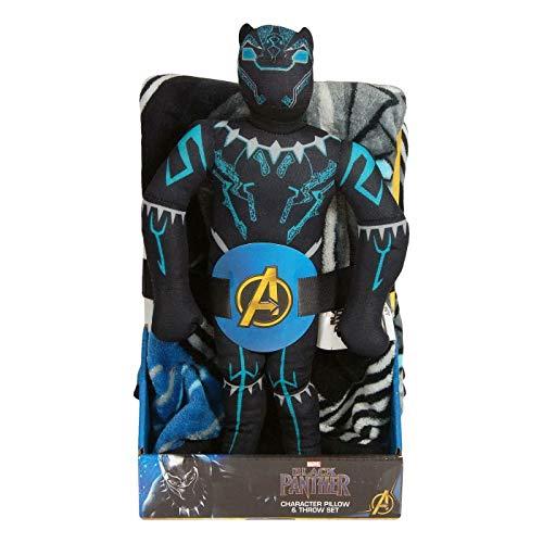 Panther Marvel Black Throw Pillow C…
