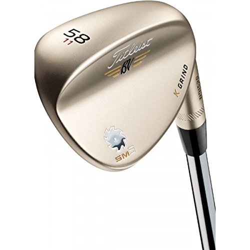 Titleist Vokey Sm5 Gold Nickel Wedges S Grind Dynamic Gold Steel 10.0 Right 54.0