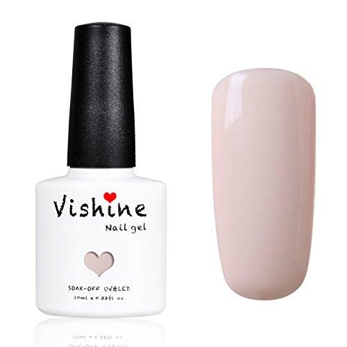 Vishine Vernis à ongles Gel Semi Permanent Nude Coloris Serie UV LED Gel Nail Art 10ml #11