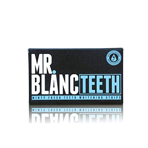 Mr Blanc Teeth ™ Teeth Whitening Strips - 2 Wochen Supply - Professionelle Teeth Whitening - Emaille Safe - Non Peroxid