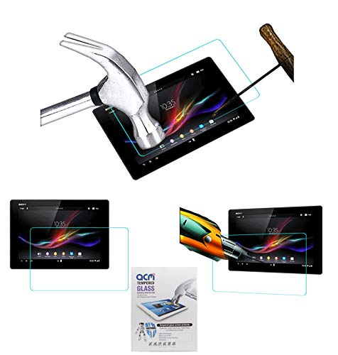 Acm Tempered Glass Screenguard for Sony Xperia Z Tablet