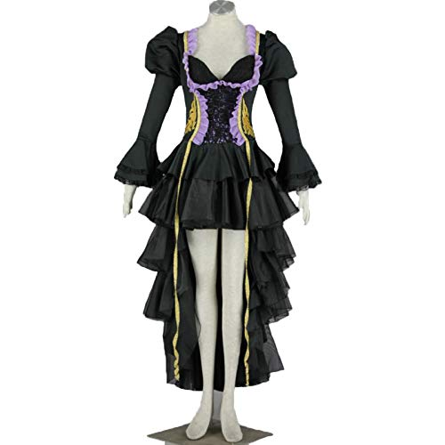 BMDHA Disfraz De Anime Hatsune Miku De Mujeres Japons Snow Hatsune COS Ropa Cosplay Disfraz,XXL