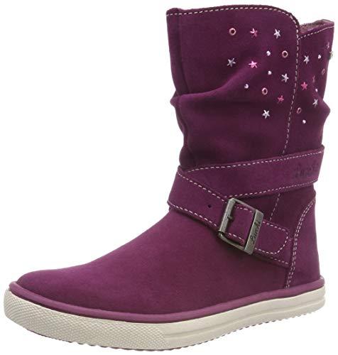 Lurchi CINA-Tex, Botas Plisadas Niños, Violeta Deep Purple 39, 29 EU (Zapatos)