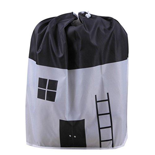 Fulltime_Sac de rangement pliable Sac de Rangement Pliable, vêtements Couverture de Couette Armoire Chandail Organisateur Pochettes (F(60x43x33cm))