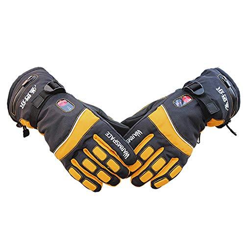 Ardentity ski-handschoenen voor de winter, verwarmde handschoenen, fietsen, sporten, hardlopen, skiën, snowboarden, motorfietsen