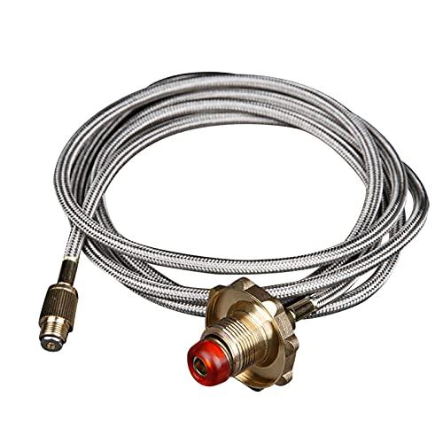A/A enjoymentlin Adaptador de recarga de gas plano acoplador de cilindro LPG Lata plana conector Camping Gas estufa adaptador