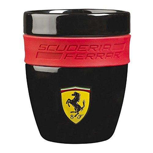 Ferrari Black Ceramic Cup by Ferrari