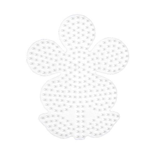 Hama 299 Bügelperlen Gr.P. Blume Schreibwaren, weiß