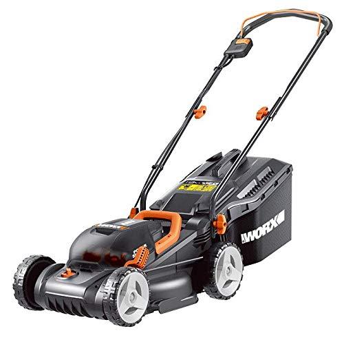 WORX WG779E.1 36V (40V Max) Cordless 34cm Lawn Mower (Dual x2 4.0Ah Batteries) Mowers & Outdoor Power Tools Garden & Outdoors