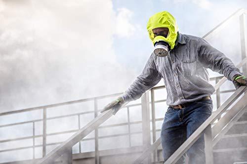 Dräger 5530 Parat Brand-Fluchthaube im robusten Hard Case | Effektive Rettungshaube zum Schutz vor Brandgasen, Kohlenmonoxid (CO) - 7