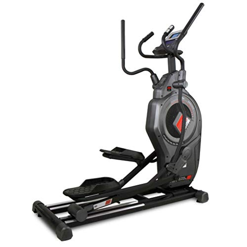 Bh Fitness CROSS1200 G875 Elliptical Cross Trainer - Unisex Air + Magnetic Inertial System - 53 cm Strike - Semipro - HIIT Programs