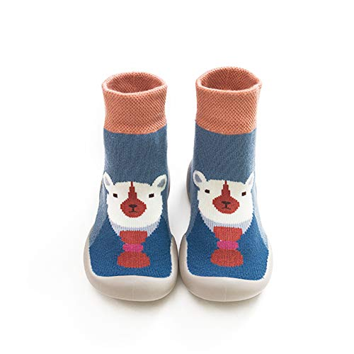ZS ZHISHANG Socks for Toddler Boys and Winter Cartoon Socks Shoes Toddler Shoes Boys Girls First Walk Shoes Thicken Anti Slip