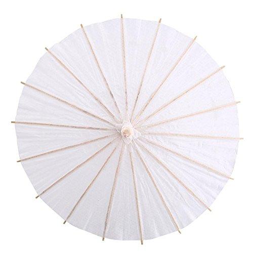 GLOGLOW Papierschirm, japanischer chinesischer Regenschirm für Kinder, DIY-Projekte, Fotozubehör, Kunstdisplay (60)